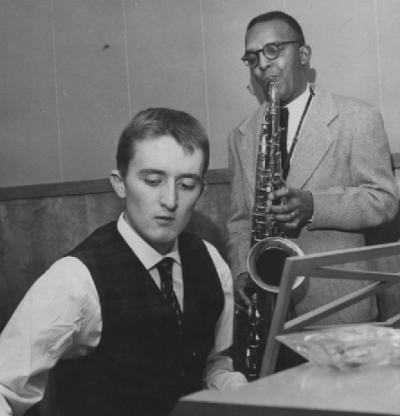 Stefano Torossi and Harry Lewis, circa 1959