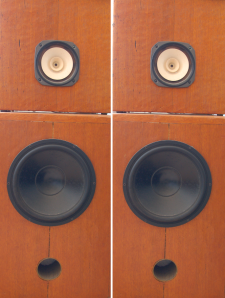 Michael Lee's hand-crafted speakers