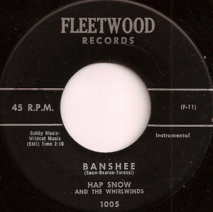 "Stefano Torossi's first record credit on ""Banshee,"" 1959"