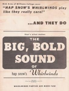 Big, Bold Sound handbill