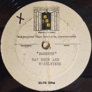 Hap Snow's Whirlwinds - Banshee 1959 Ace Recording Studios demo