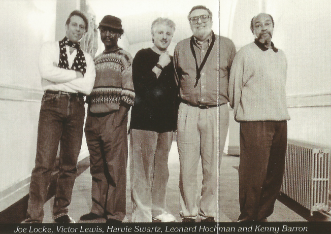 Joe Locke, Victor Lewis, Harvie Swartz, Leonard Hochman, and Kenny Barron from the Manhattan Morning (1995) CD booklet