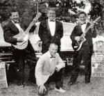 Steve James, Frankie Mento, Michael Kaye and Hap Snow circa 1963