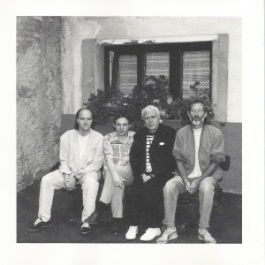 Carlo Mombelli and Charlie Mariano, with Peter O'Mara and Bill Elgart - Happy Sad (1990) CD booklet