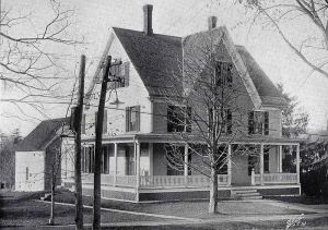 "Delta Tau Delta, the Fraternity House Renamed ""Bones Gate"" in 1962"