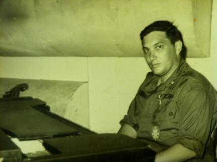 Michael Kaye in Vietnam circa 1966-1967