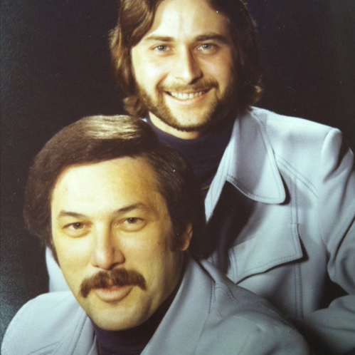 Gary Feldman and Michael Kaye in the 1970s