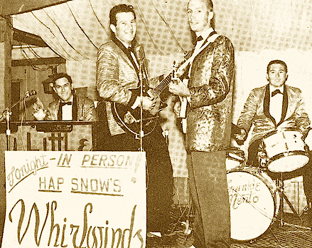 Hap Snow's Whirlwinds circa 1963
