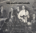 Hap Snow's Whirlwinds - The Basement Tapes, Vol. I: Home Recordings 1958-1959 EP cover