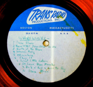 Hap Snow's Whirlwinds - Trans Radio 10-Track Compilation Demo (1959)
