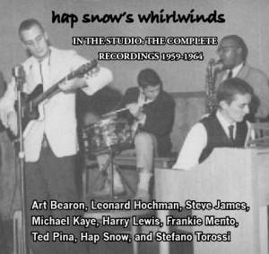 Hap Snow's Whirlwinds - In The Studio: The Complete Recordings 1959-1964 EP cover