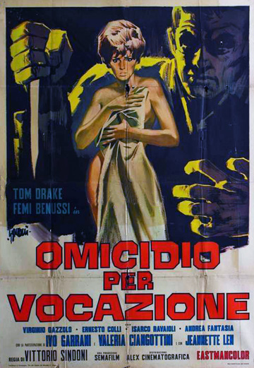 movie poster for Omicidio per vocazione (Deadly Inheritance) (1967)