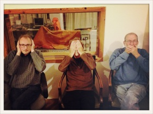 Gianni Lenoci, Kent Carter, and Bill Elgart in 2014