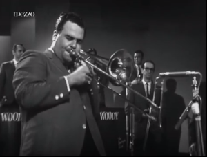 Phil Wilson with Woody Herman's band in England in 1964