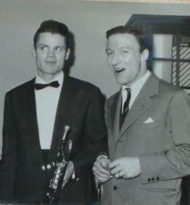 Chet Baker and Amedeo Tommasi in the early 1960s (photo from Tommasi's MySpace.com site)