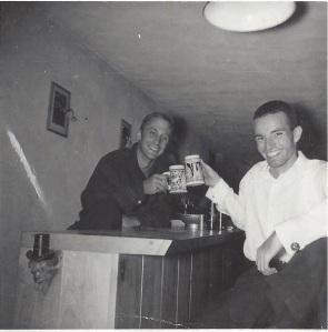 Hap Snow and Ken Roy in Weston, Massachusetts, circa 1964