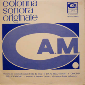 È stato bello amarti and Omicidio per vocazione (1968) CAM Records