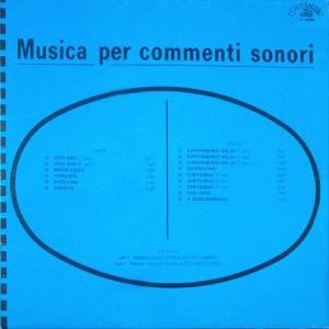 Musica per commenti sonori (1969) (CO 1004)