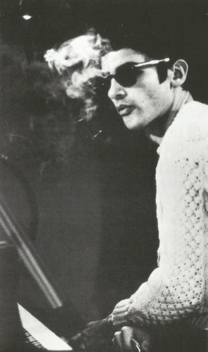 Paul Bley from Paul Bley with Gary Peacock (1970) CD booklet crop