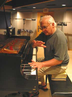 Paul Bley in 2006 (photo by Carol Goss)