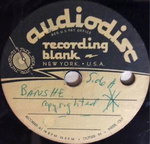 "Hap Snow's Whirlwinds - ""Banshee"" (1958) Audiodisc demo #2"