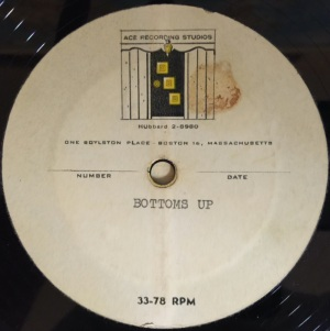 "Hap Snow's Whirlwinds - ""Bottoms Up"" (1959) Ace Recording Studios demo"