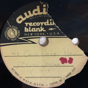 """Hap Snow's Whirlwinds - """"He Can Have Her"""" (1963) Audiodisc demo #2"""