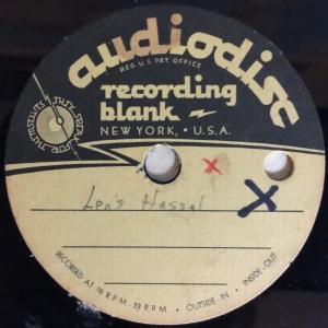 "Hap Snow's Whirlwinds - ""Len's Hassle"" (1960) Audiodisc demo"