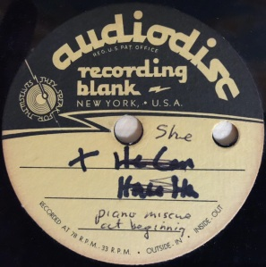 """Hap Snow's Whirlwinds - """"She"""" (1963) Audiodisc demo"""