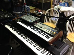 one set of Michael Kaye's Juno keyboards