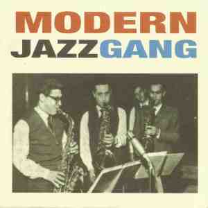Modern Jazz Gang picture from Miles Before And After (1960) CD booklet