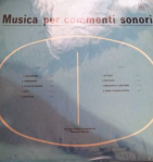 Giancarlo Gazzani - Musica per commenti sonori (1974) Costanza Records (CO 10010)