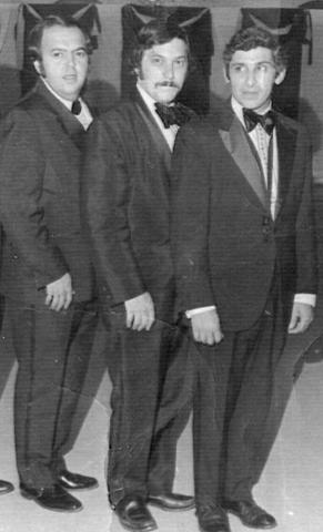 Pimental, Barberio, and Kaye in 1973