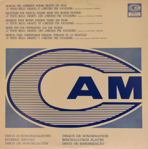 Èstato bello amarti / Omicidio per vocazione (1968) CAM (PRE 2) cover