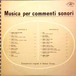 Stefano Torossi - Musica per commenti sonori (1968) Costanza Records (CO 10002)