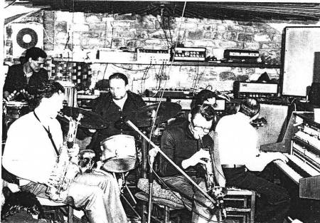 Chet Baker with Quartetto Di Lucca in the early 1960s