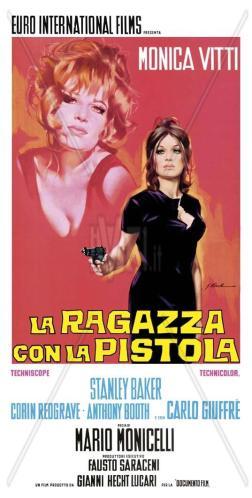 La ragazza con  la pistola (1968) film poster