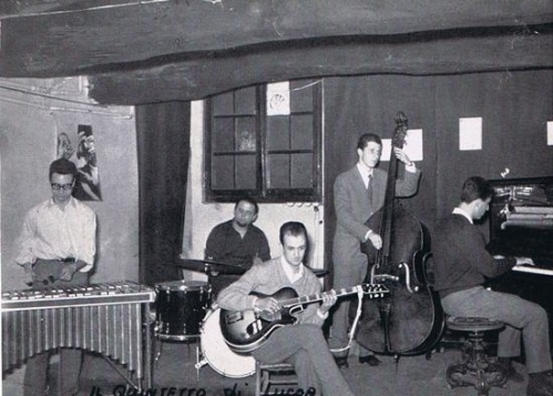 Quintetto di Lucca in the late 1950s (photo from discogs.com)
