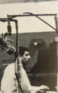 Vito Tommaso around 1960 (photo crop from Quartetto (1961) back cover)