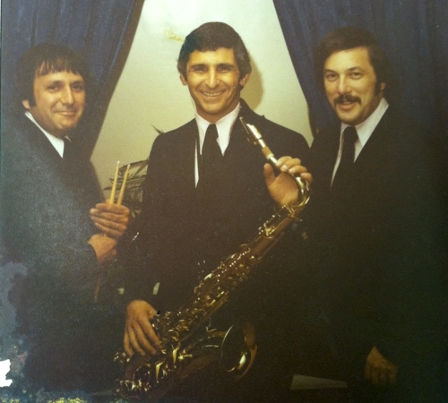 Joey Andrade, Frank Barberio, and and Michael Kaye in the 1970s