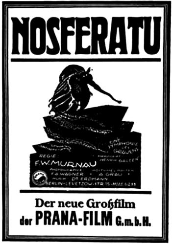 F. W. Murnau's Nosferatu (1922) film poster